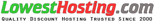 Quality Discount Hosting Free Domain Name